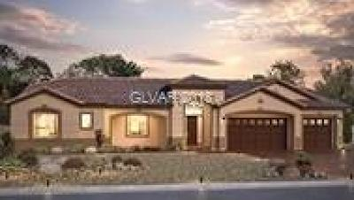 Las Vegas Single Family Home For Sale: 7068 Connor Cove Street #LOT 4009