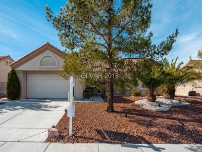 Las Vegas Single Family Home For Sale: 2841 Desert Crystal Drive