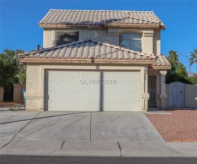 Las Vegas Single Family Home For Sale: 7504 Hickory Hills Drive
