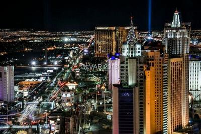Las Vegas, North Las Vegas High Rise For Sale: 3750 South Las Vegas Boulevard #4002