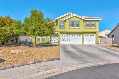 Las Vegas Single Family Home For Sale: 780 Bachman Court