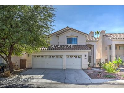 Las Vegas Single Family Home For Sale: 9907 Sierra Canyon Way