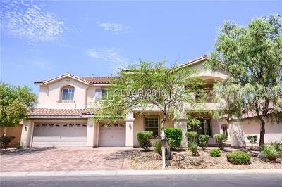Las Vegas Single Family Home For Sale: 9625 Gondolier Street