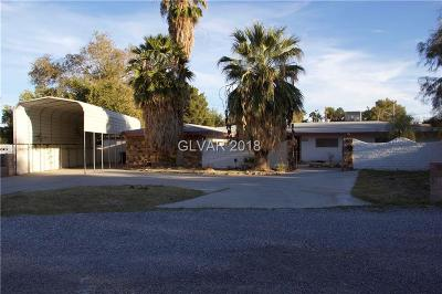 Las Vegas Single Family Home For Sale: 6672 Happy Circle
