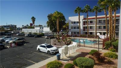 Las Vegas Condo/Townhouse For Sale: 1381 University Avenue #203