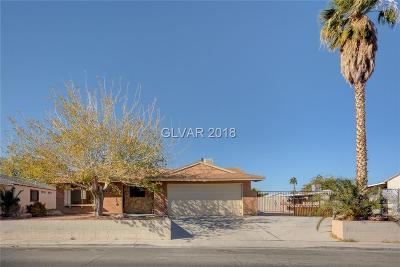 Las Vegas Single Family Home For Sale: 739 Linn Lane