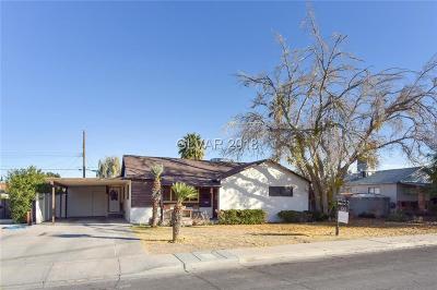 Las Vegas Single Family Home For Sale: 1325 Darmak Drive