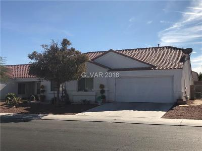 Clark County Single Family Home For Sale: 2125 Mountain Sunset Avenue