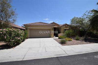 Las Vegas Single Family Home For Sale: 3696 Waynesvill Street