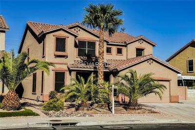 Las Vegas Single Family Home For Sale: 227 Palmarosa Street