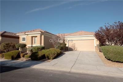 North Las Vegas Single Family Home Under Contract - Show: 2708 Cuckoo Shrike Avenue
