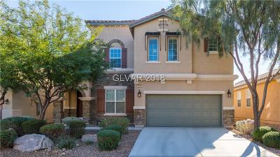 Las Vegas Single Family Home For Sale: 7291 Childers Avenue