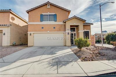 North Las Vegas Single Family Home For Sale: 6232 Legend Falls Street