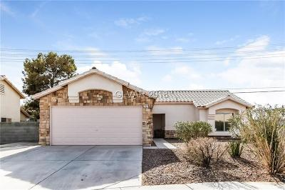 North Las Vegas Single Family Home For Sale: 3227 Lost Mesa Court
