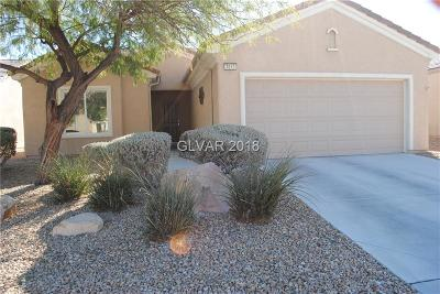 Boulder City, Henderson, Las Vegas, North Las Vegas Single Family Home For Sale: 3613 Hammerkop Drive