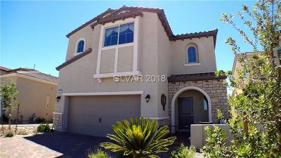 Las Vegas Single Family Home For Sale: 6845 Black Ash Street