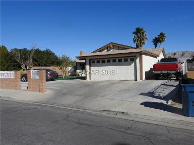 Las Vegas Single Family Home For Sale: 329 Challas Street