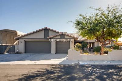 Las Vegas Single Family Home For Sale: 6445 Home Run Drive