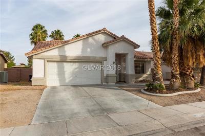 North Las Vegas Single Family Home For Sale: 5032 Vista Montana Way