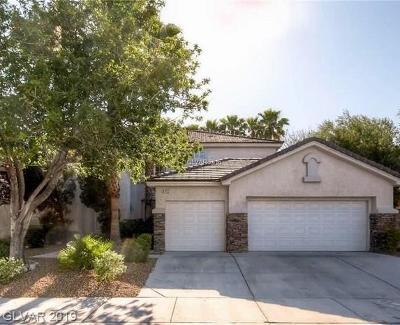 Las Vegas Single Family Home For Sale: 5413 Rose Thicket Street