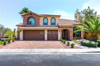 Las Vegas Single Family Home For Sale: 8556 Silver Coast Street