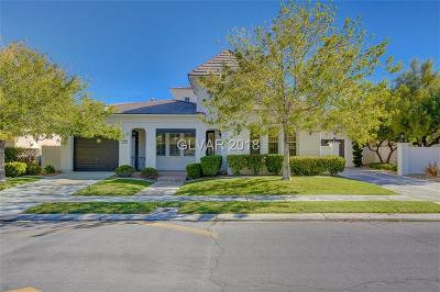 Las Vegas Single Family Home For Sale: 1204 Saintsbury Drive