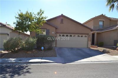 Las Vegas Single Family Home Under Contract - No Show: 9121 Patrick Henry Avenue