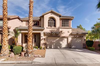 Las Vegas Single Family Home For Sale: 5484 Avent Ferry Street