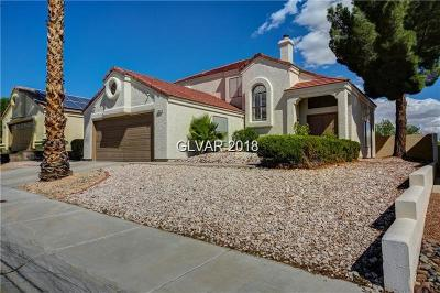 Las Vegas Single Family Home For Sale: 2030 Donnegal Bay Dr Drive
