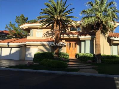 Las Vegas Single Family Home For Sale: 8913 Canyon Springs Drive