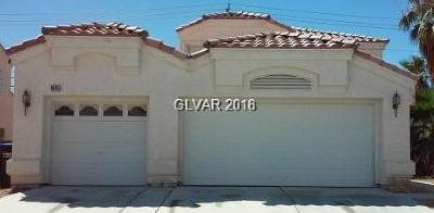 North Las Vegas Rental For Rent: 4845 El Este Lane