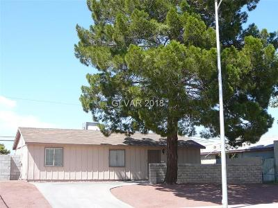 Las Vegas Single Family Home For Sale: 2229 Melinda Avenue