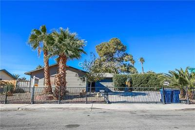 Las Vegas Single Family Home For Sale: 5035 Killarney Street
