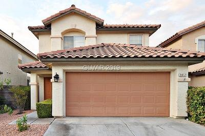Las Vegas Single Family Home For Sale: 9412 Canalino Drive