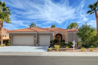 Las Vegas Single Family Home For Sale: 2236 Hot Oak Ridge Street