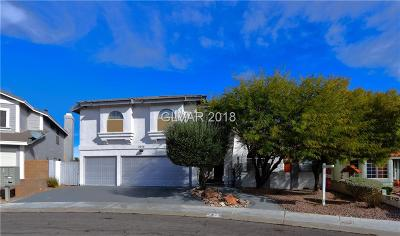 Las Vegas Single Family Home For Sale: 2916 Charming Dale Way