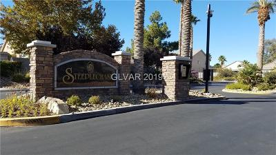 Las Vegas Single Family Home For Sale: 6535 Fence Jumper Avenue