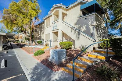 Boulder City, Henderson, Las Vegas, North Las Vegas Condo/Townhouse For Sale: 3425 Russell Road #256
