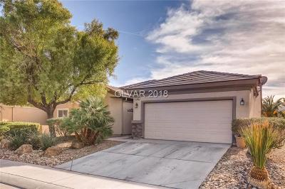 Boulder City, Henderson, Las Vegas, North Las Vegas Single Family Home For Sale: 2305 Carrier Dove Way