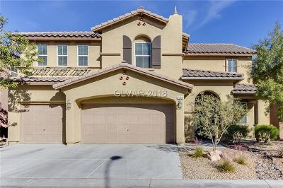 Las Vegas Single Family Home For Sale: 7298 Commanche Creek Avenue