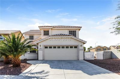 North Las Vegas Single Family Home For Sale: 705 Picasso Picture Court