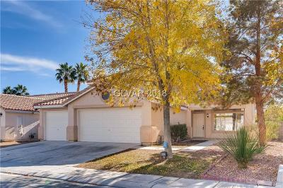 North Las Vegas Single Family Home For Sale: 1835 Indian Rock Road