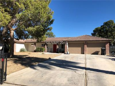 Las Vegas Single Family Home Under Contract - No Show: 7830 Procyon Street