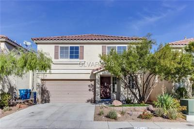 Las Vegas Single Family Home For Sale: 6654 Melodic Court