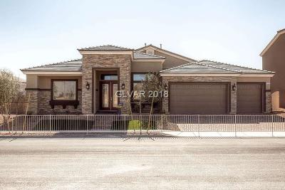 LAS VEGAS Single Family Home For Sale: 7108 Appaloosa Ridge Street #Lot 88