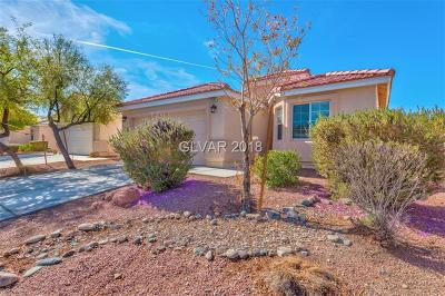 North Las Vegas Single Family Home For Sale: 6145 Camden Cove Street