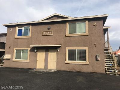 Henderson, Las Vegas Multi Family Home For Sale: 4156 Zavala Street