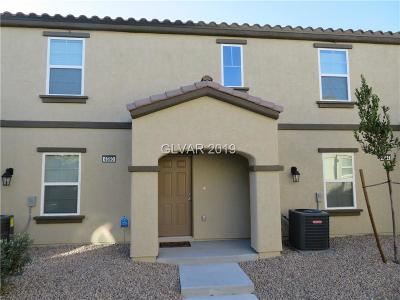 las vegas Condo/Townhouse For Sale: 4590 Townwall Street