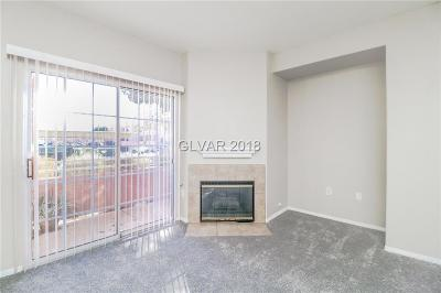 Clark County Condo/Townhouse For Sale: 3318 North Decatur Boulevard #1121