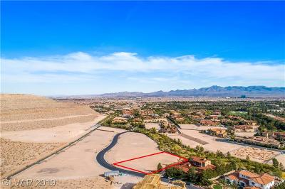 Las Vegas NV Residential Lots & Land For Sale: $575,000